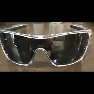 Oakley sun glasses. No scratches color is clear